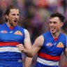 Bulldogs sneak into finals with big win over Crows