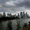 Record rain heralds Qld storm season
