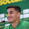 'Um, this is pretty cool': Arzani a refreshing face on world's biggest stage