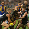 Eagles on top, but 'dodged a bullet': Simpson
