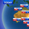 National weather forecast for Wednesday, September 23