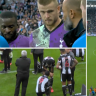 EPL stars' pro-active thinking saves fan