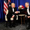 How Trump made up with Turnbull after a 'most unpleasant call'