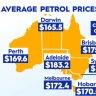 Near-record high petrol prices in Australia are set to continue for at least another month, the NRMA has predicted.