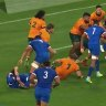 France 10-phase play against Australia