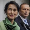 Aung San Suu Kyi visit gives Malcolm Turnbull a chance to shine