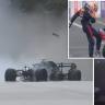 Tyre failure puts Verstappen out of Azerbaijan Grand Prix