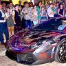Street artist graffitis $375,000 Lamborghini with liquid paper
