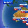 National weather forecast for Wednesday, September 9