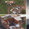 Eastern states brace for more wild weather after tornado smashes NSW towns