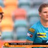 The usually reliable Jess Jonassen dished up one of the worst balls of her career during the WBBL super over.