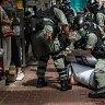 Hundreds arrested in Hong Kong protests