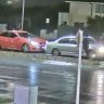 Police release CCTV of a fight involving three cars at Tarneit Shopping Centre, which happened only minutes before a fatal car crash that killed four teens.