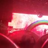 The Flaming Lips perform 'space bubble' concert
