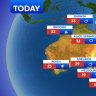 National weather forecast for Friday, September 18