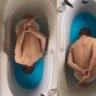 Bathtub Swan Lake an internet hit