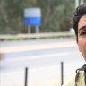Reporter Benjamin Preiss on the NSW/VIC border
