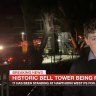 Schoolboy gets scoop on tower demolition