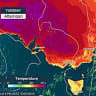 Heatwave conditions for southeastern Australia