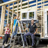 Canberra Girls Grammar students nail building a tiny house