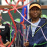 'Worst acceptance speech of all time': Nervous Osaka claims victory