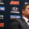 Carlton 'can't get any worse' on the field, says president