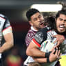 Manly thrashed by Warriors in third straight loss