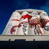 Frame by frame, brush by brush: FORM's Albany silo mural comes to life
