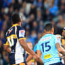 Brumbies embarrass Waratahs in thumping win, but too late for finals