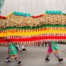 Enter the dragon; and a splash of colour to mark Lunar New Year