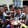 On the road with Joko Widodo in his quest for a second term