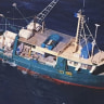 Divers unable to find four men missing after trawler tragedy