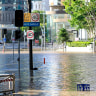 A new report is calling for a flood levee around the Brisbane CBD