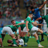Ireland thrash Italy in nine-try rout in Six Nations
