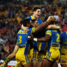 Mitch Moses is swimming with the tide at Eels after a fresh start