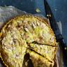 Dan Lepard's ploughman's lunch in a tart