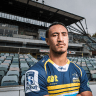ACT Brumbies winger Lausii Taliauli on verge of knee reconstruction comeback for Vikings