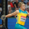 World Athletics Championships 2017: Dani Stevens wins silver in discus