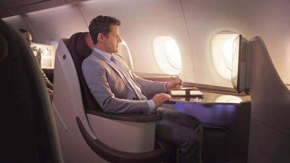 First class can't keep up with the world's best business class seats