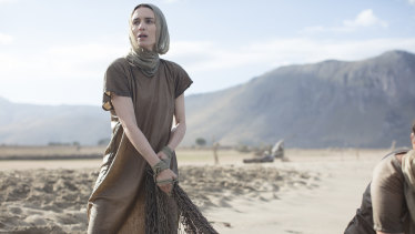 """""""A remarkable human being"""": Rooney Mara as Mary Magdalene."""