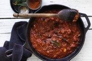 Eggplant pasta sauce.
