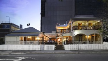 Alfred & Constance restaurant, bar and nightclub in Fortitude Valley.