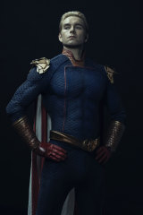Antony Starr as Homelander in The Boys.