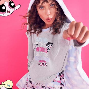 The limited edition collection features both women's and girl's pyjamas.