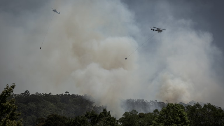 Smoke blown in from the Hunter region is expected to effect western Sydney on Sunday.