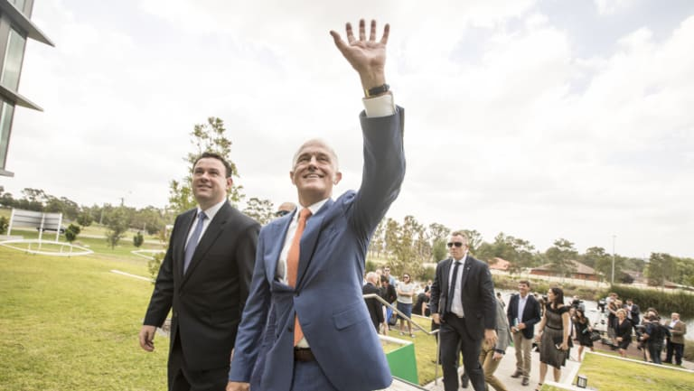 Malcolm Turnbull on Sunday.