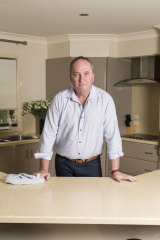 Barnaby Joyce is fighting to hang on to his career.
