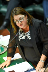 Aboriginal Affairs Minister Natalie Hutchins.