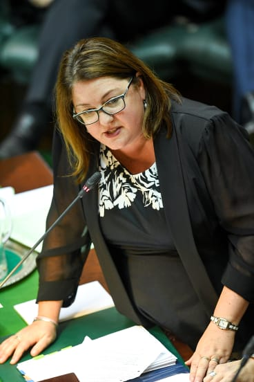 Aboriginal Affairs Minister Natalie Hutchins.