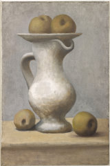 Picasso's Still life with pitcher and apples, (1916)
